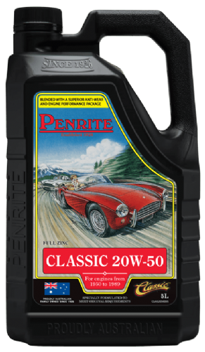 Penrite Classic 20W/50 engine oil - 5 litre bottle